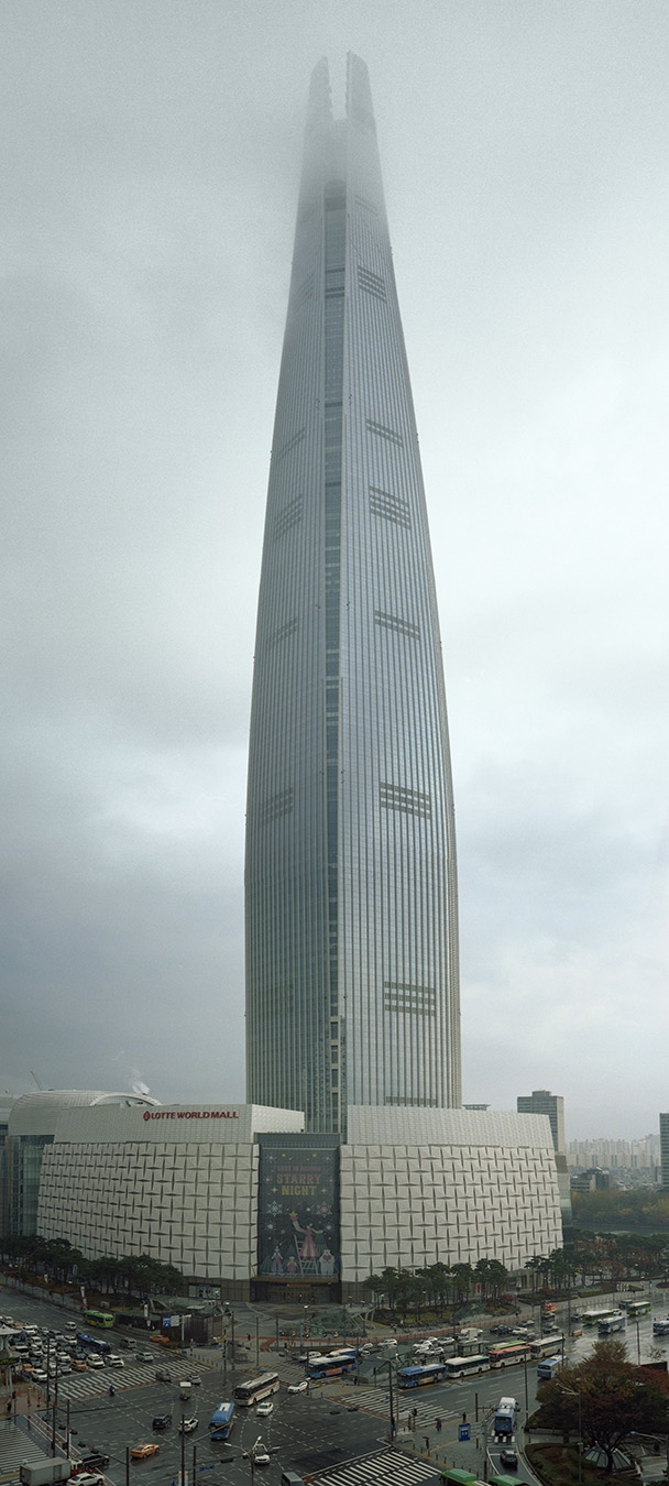zLotte World Tower Pano